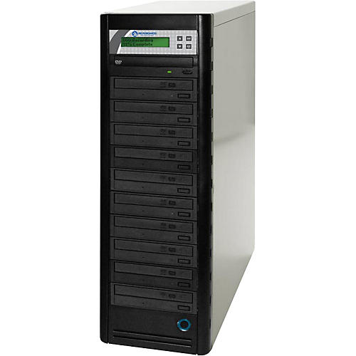 Microboards Quic Disc DVD H1210 Economy 1:10 CD/DVD Duplicator with Hard Drive-thumbnail