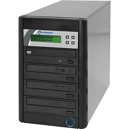 Microboards Quic Disc DVD H123, Economy CD/DVD Duplicator 1:3 with Hard-Drive thumbnail