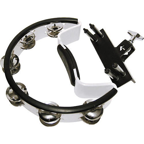 Pearl Quick-Draw Mounted Tambourine with Steel Jingles thumbnail