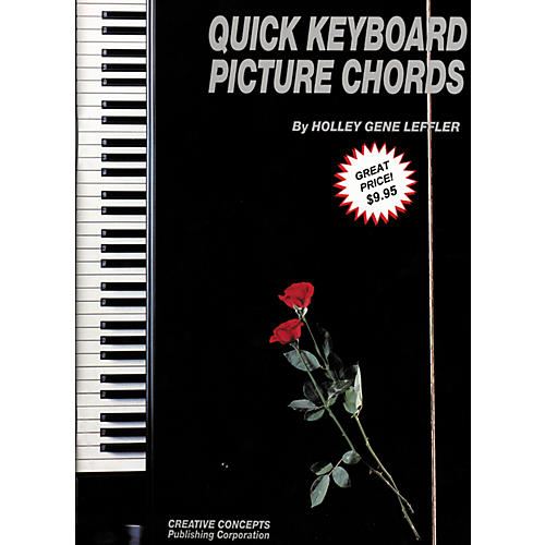 Creative Concepts Quick Keyboard Picture Chords Book thumbnail