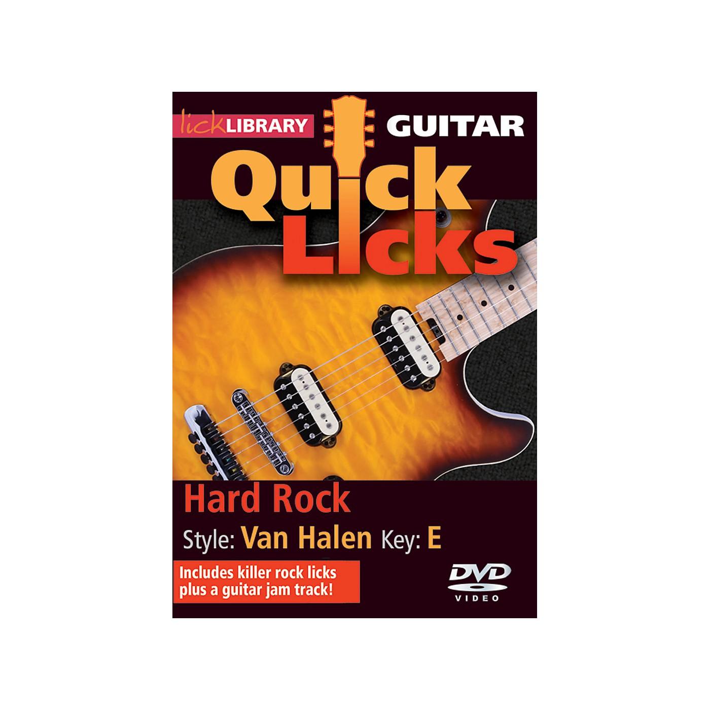 Hal Leonard Quick Licks Van Halen Vol 2 DVD thumbnail