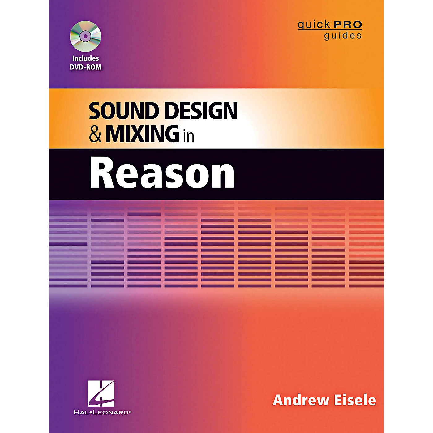 Hal Leonard Quick Pro Guides - Sound Design And Mixing In Reason Book/DVD-ROM thumbnail