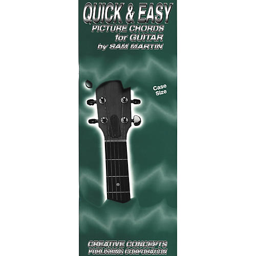 Creative Concepts Quick and Easy Picture Chords for Guitar Book (Case) thumbnail
