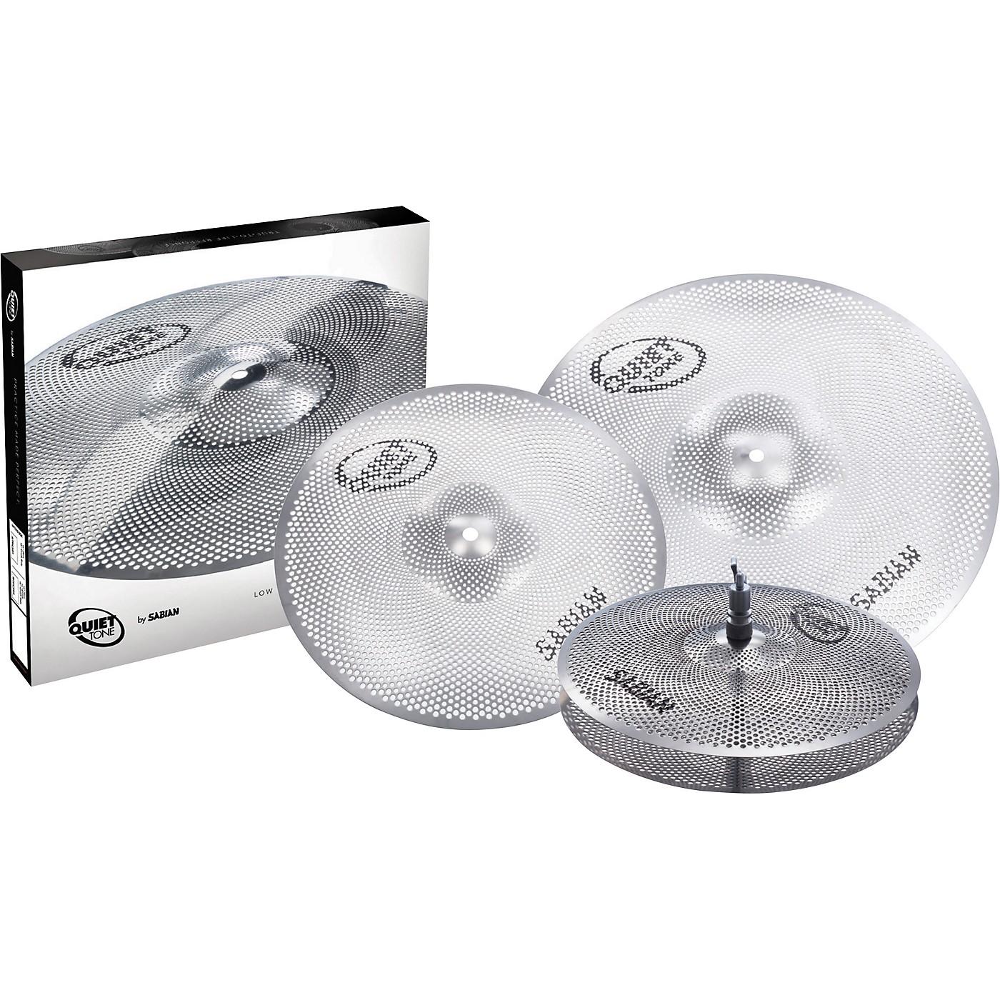 Sabian Quiet Tone Practice Cymbal Set, 13/14/18 thumbnail