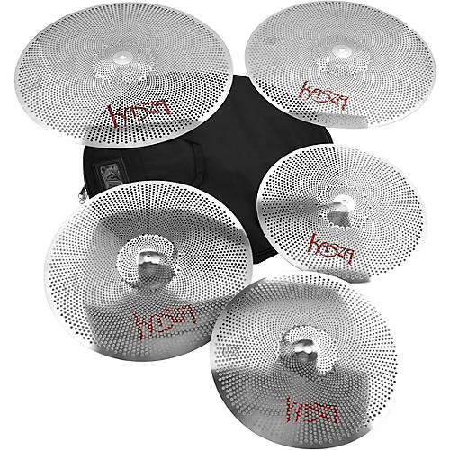 Kasza Cymbals Quiet on the Set Practice Cymbal Pack thumbnail