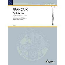 Schott Music Quintet (Score) Schott Series Composed by Jean Françaix