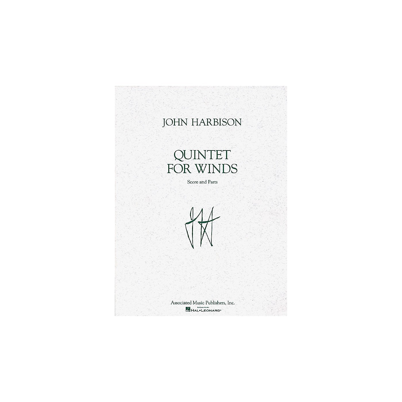 Associated Quintet for Winds (Score and Parts) Woodwind Ensemble Series Composed by John Harbison thumbnail