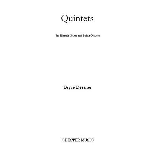 Chester Music Quintets (for Electric Guitar and String Quartet) Music Sales America Series Composed by Bryce Dessner thumbnail