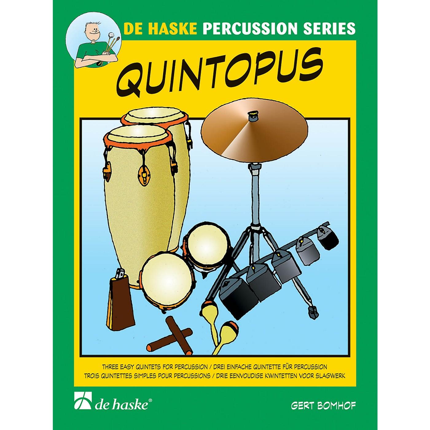 De Haske Music Quintopus 3 Easy Quintets For Percussion Concert Band thumbnail