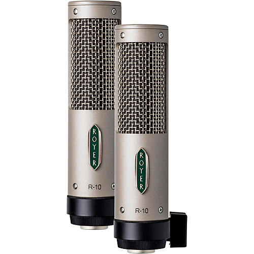 Royer R-10 Ribbon Microphone Matched Pair thumbnail