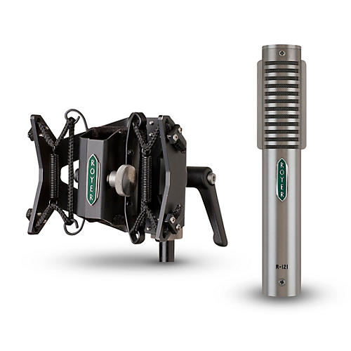Royer R-121 Ribbon Microphone and RSM-SS1 Sling-Shock Shockmount thumbnail
