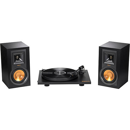 Klipsch R-15 Powered Monitors + Pro-Ject Primary Turntable Bundle thumbnail