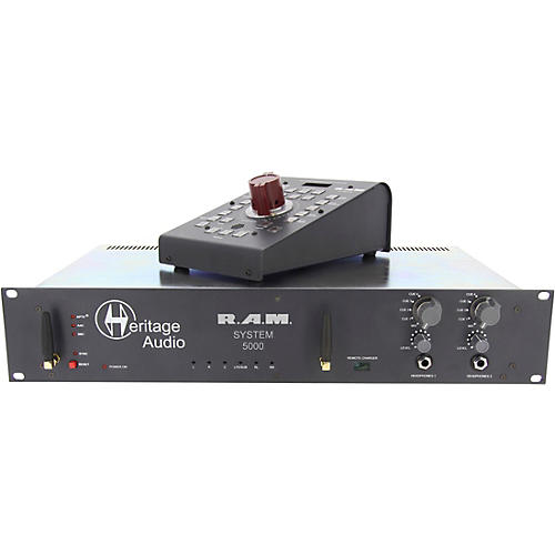 Heritage Audio R.A.M System 5000 5.1 Rackmount Monitoring System thumbnail