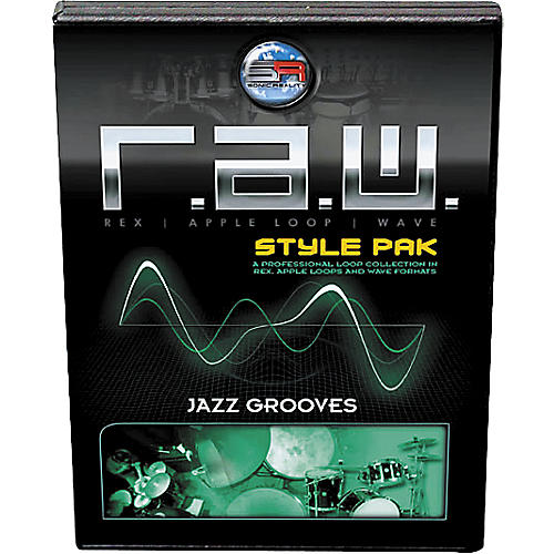 Sonic Reality R.A.W. Style Pack - Jazz Grooves Loops Collection Software thumbnail