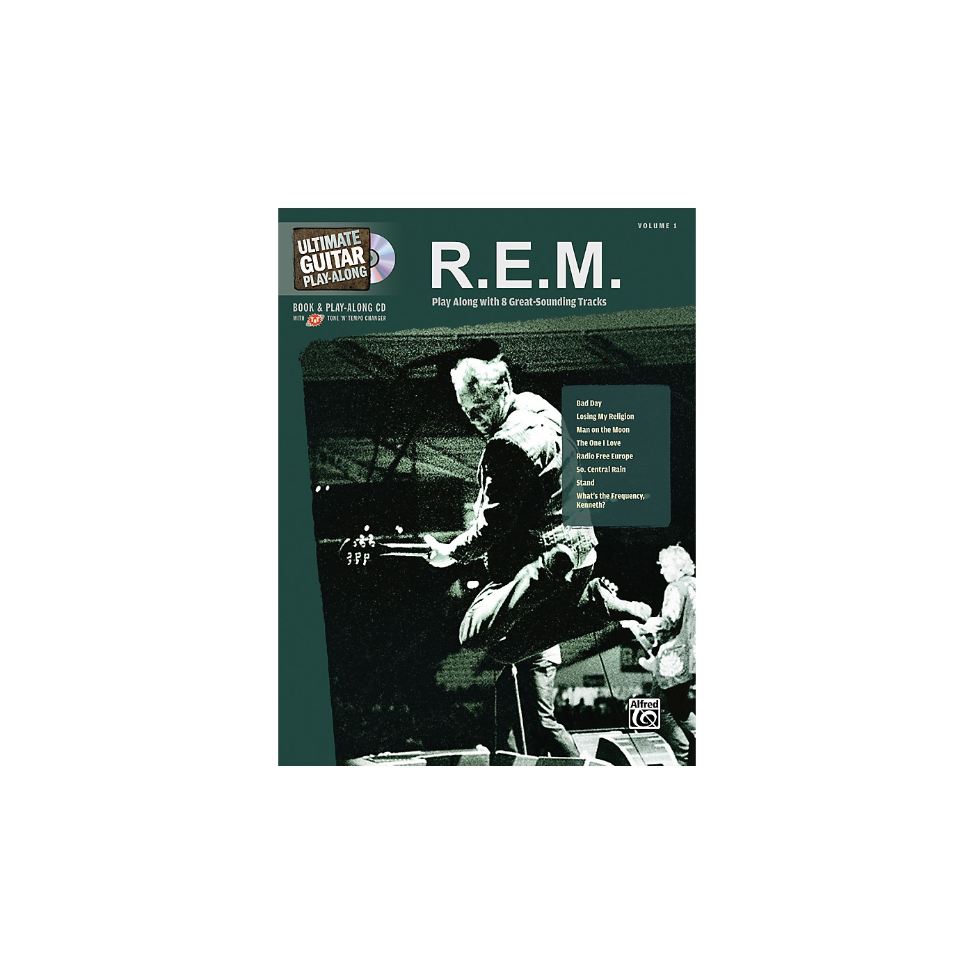 Alfred R.E.M. - Guitar Play Along Book with CD thumbnail