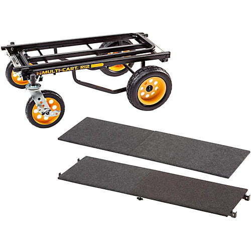 Rock N Roller R12 Multi-Cart 8-in-1 Equipment Transporter Cart With Deck and Shelf-thumbnail