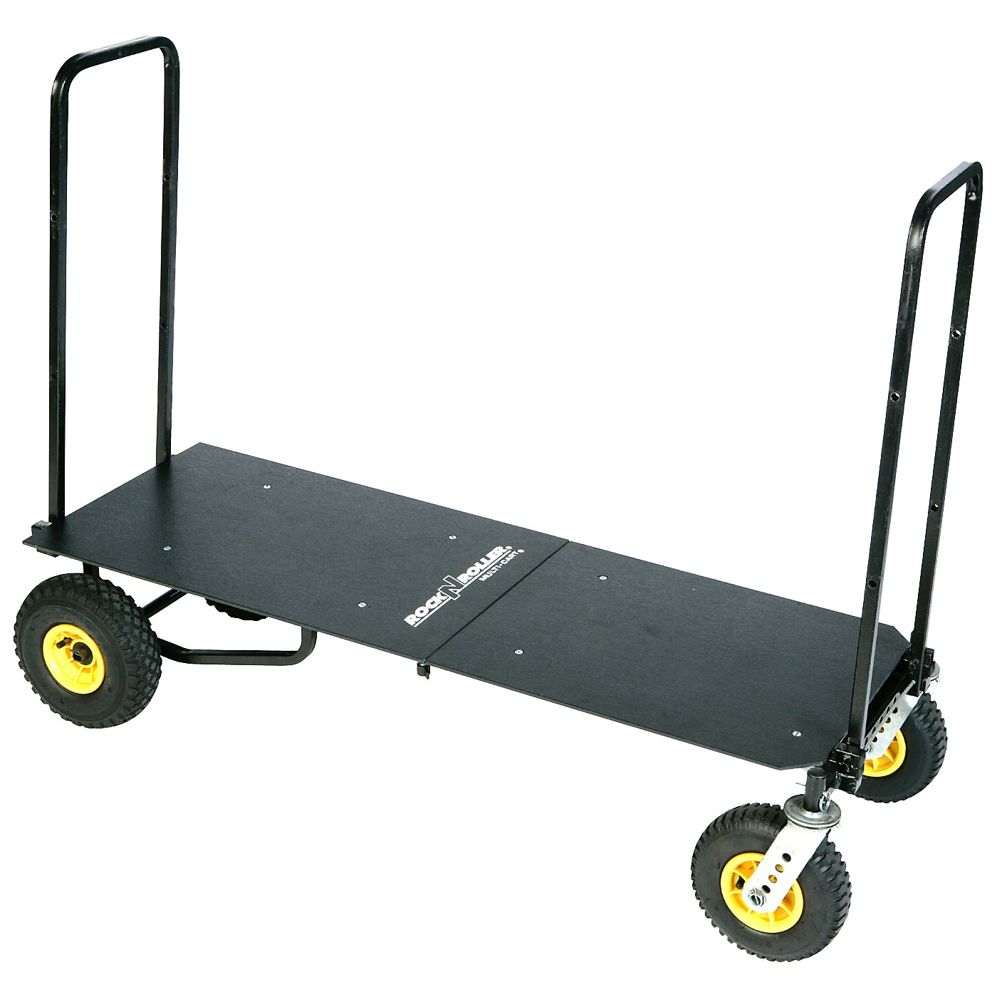Rock N Roller R12 Multi-Cart 8-in-1 Equipment Transporter Cart With Deck thumbnail