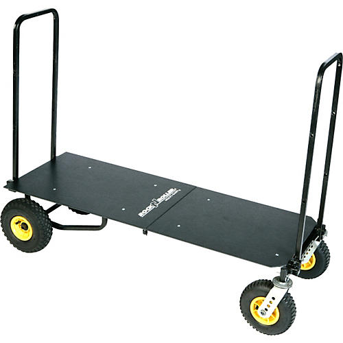 Rock N Roller R12 Multi-Cart 8-in-1 Equipment Transporter Cart With Deck-thumbnail