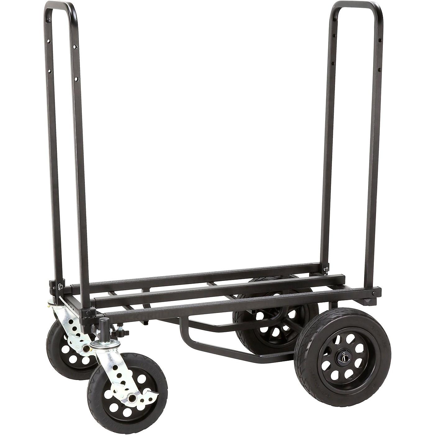 Rock N Roller R12STEALTH Multi-Cart All Terrain with R Trac Wheels - Stealth Black thumbnail