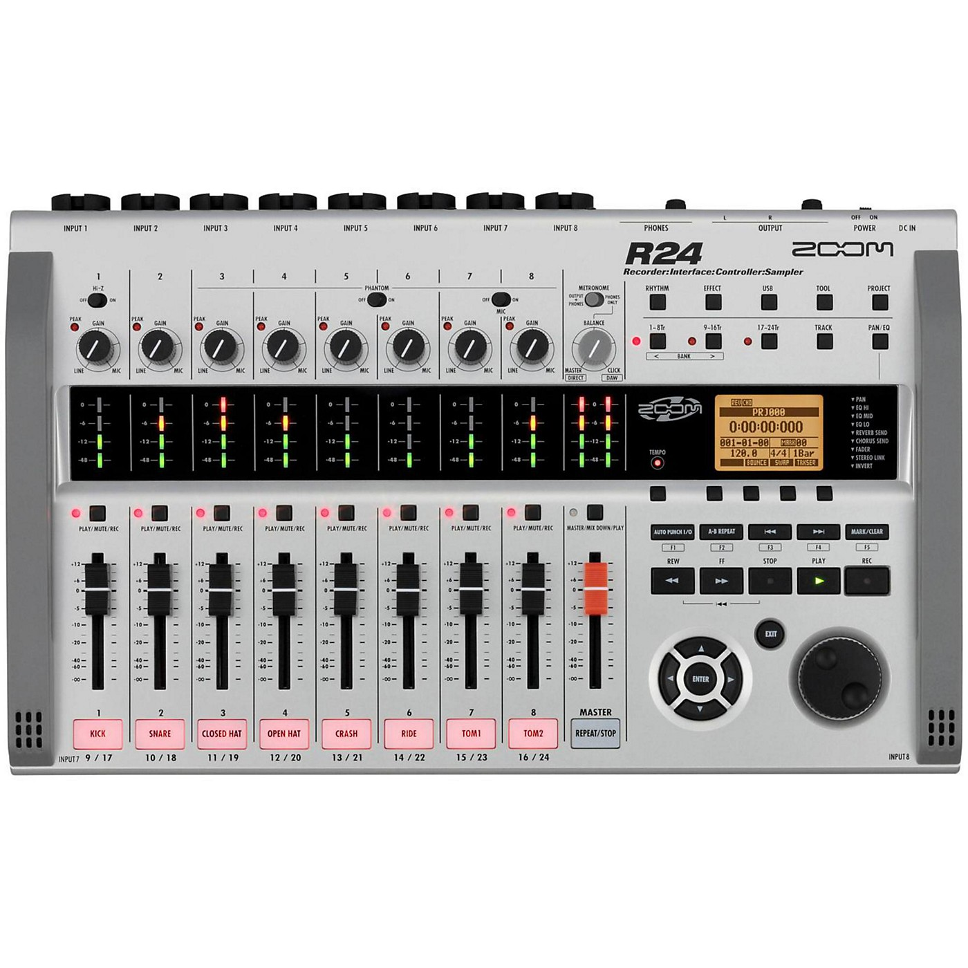 Zoom R24 Multitrack Recorder/Interface/Controller/Sampler thumbnail