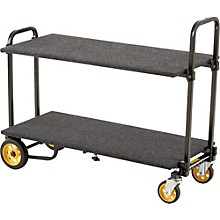 Rock N Roller R2RT 8-in-1 Micro Multi-Cart With Shelf And Deck