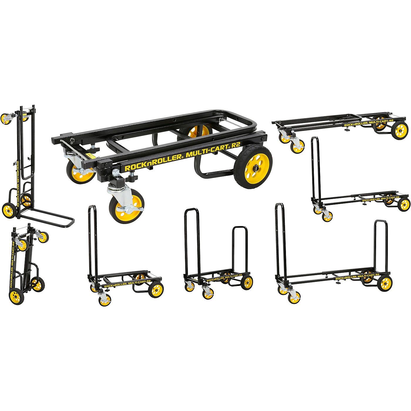 Rock N Roller R2RT Multi-Cart 8-in-1 Micro Equipment Transporter Cart thumbnail