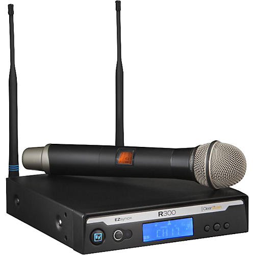 Electro-Voice R300 Handheld Wireless System in Case thumbnail
