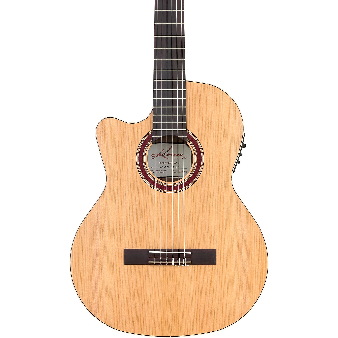 Kremona R65CWC Rondo Left-Handed Acoustic-Electric Classical Guitar thumbnail