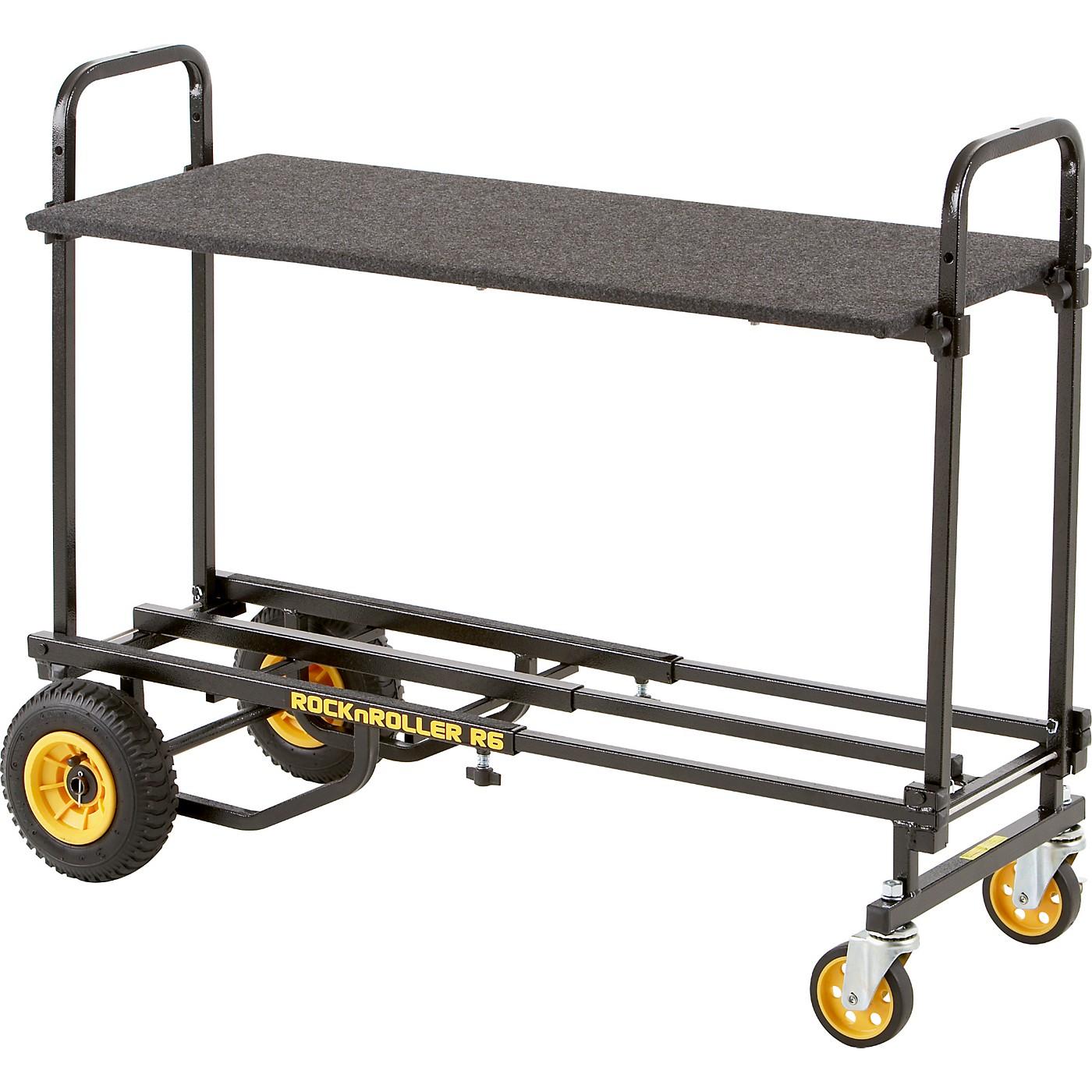 Rock N Roller R6RT 8-in-1 Mini Multi-Cart With Shelf thumbnail