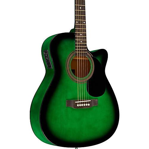 Rogue RA-090 Concert Cutaway Acoustic-Electric Guitar thumbnail