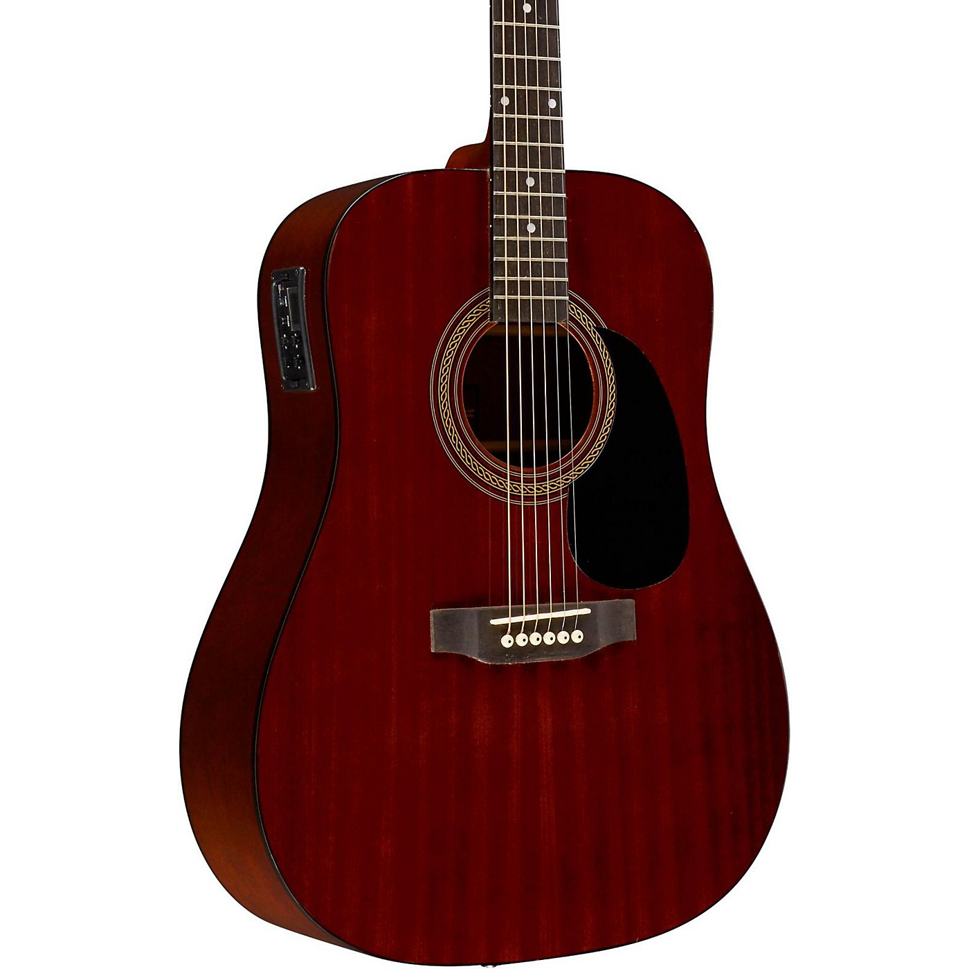 Rogue RA-090 Dreadnought Acoustic-Electric Guitar Mahogany thumbnail