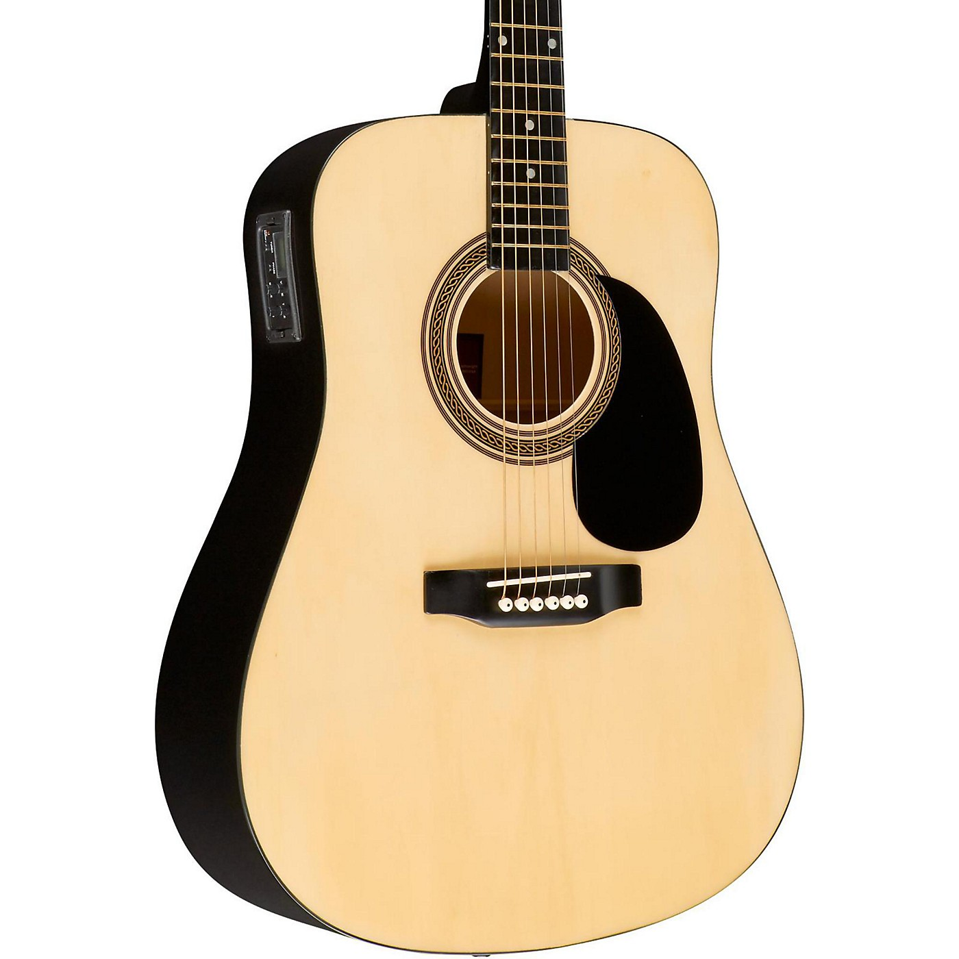 Rogue RA-090 Dreadnought Acoustic-Electric Guitar thumbnail