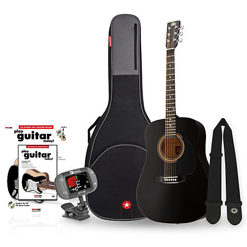 Rogue RA-090 Dreadnought Acoustic Guitar Bundle thumbnail