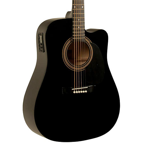 Rogue RA-090 Dreadnought Cutaway Acoustic-Electric Guitar thumbnail