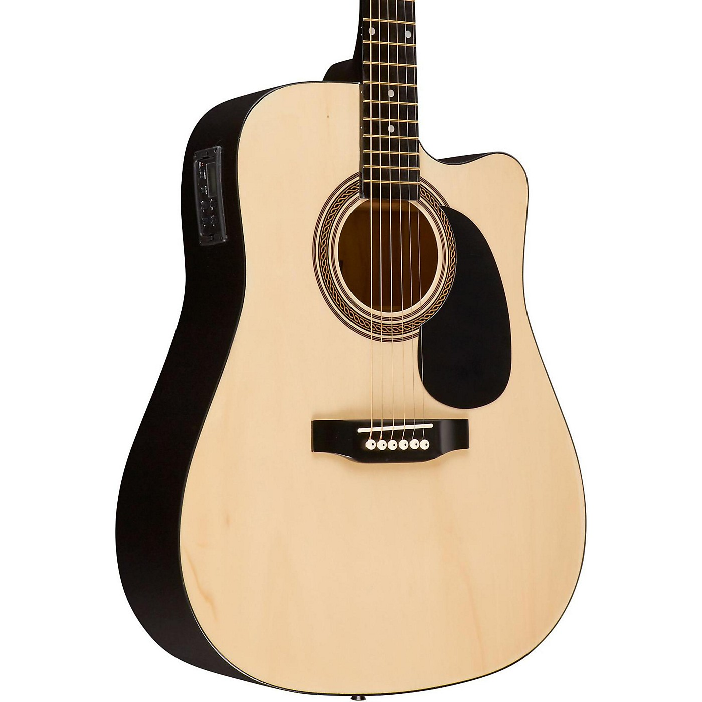 Rogue RA-090 Dreadnought Cutaway Acoustic-Electric Guitar thumbnail