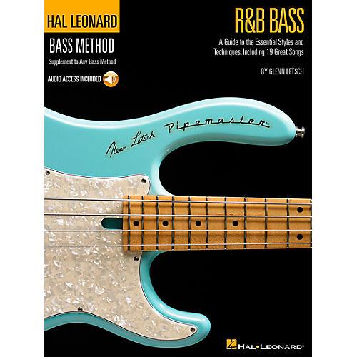 Hal Leonard R&B Bass - Hal Leonard Bass Method Stylistic Supplement Book/CD thumbnail