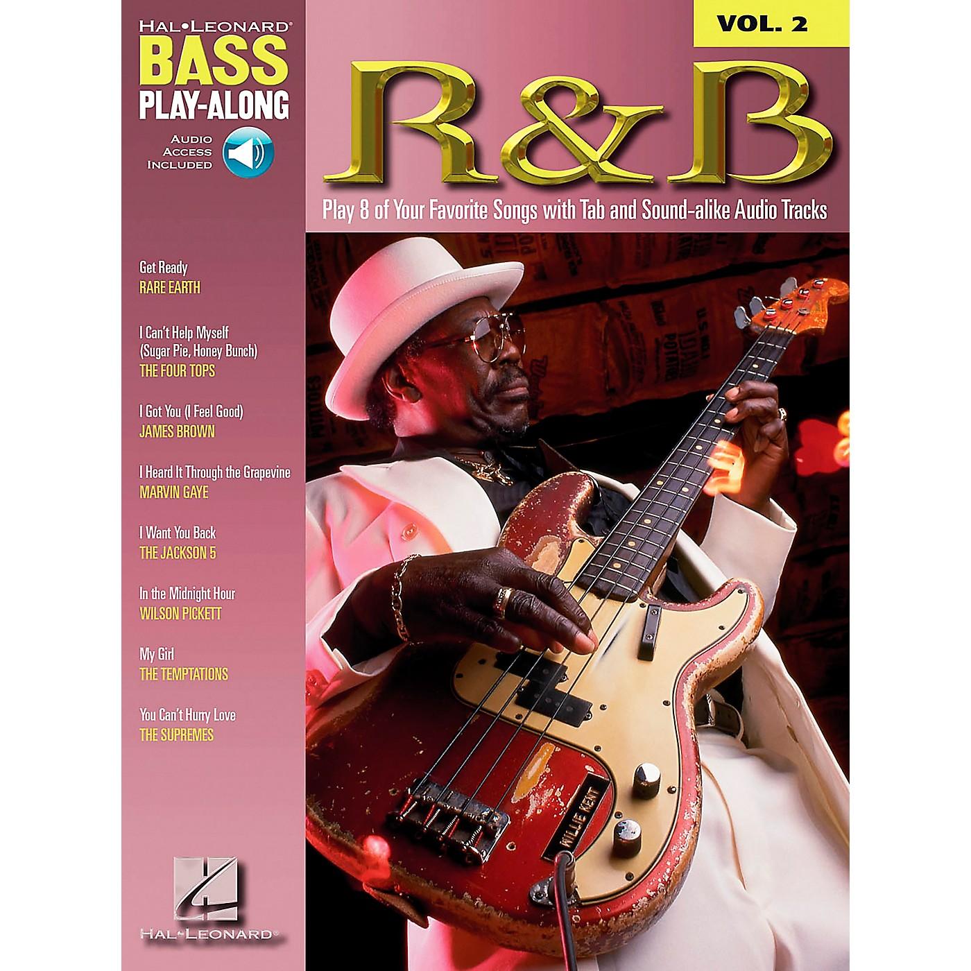 Hal Leonard R&B Bass Guitar Play-Along Series Book with CD thumbnail