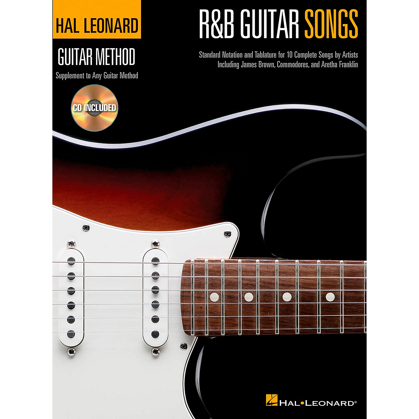Hal Leonard R&B Guitar Songs - Hal Leonard Guitar Method Book/CD thumbnail