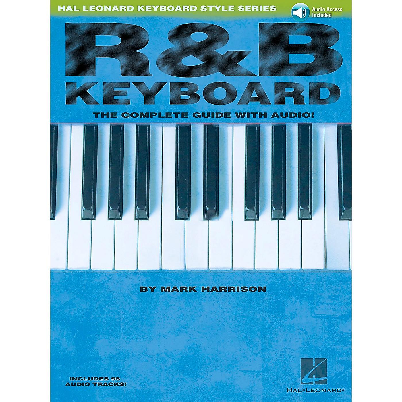 Hal Leonard R&B Keyboard Book/CD Hal Leonard Keyboard Style Series thumbnail
