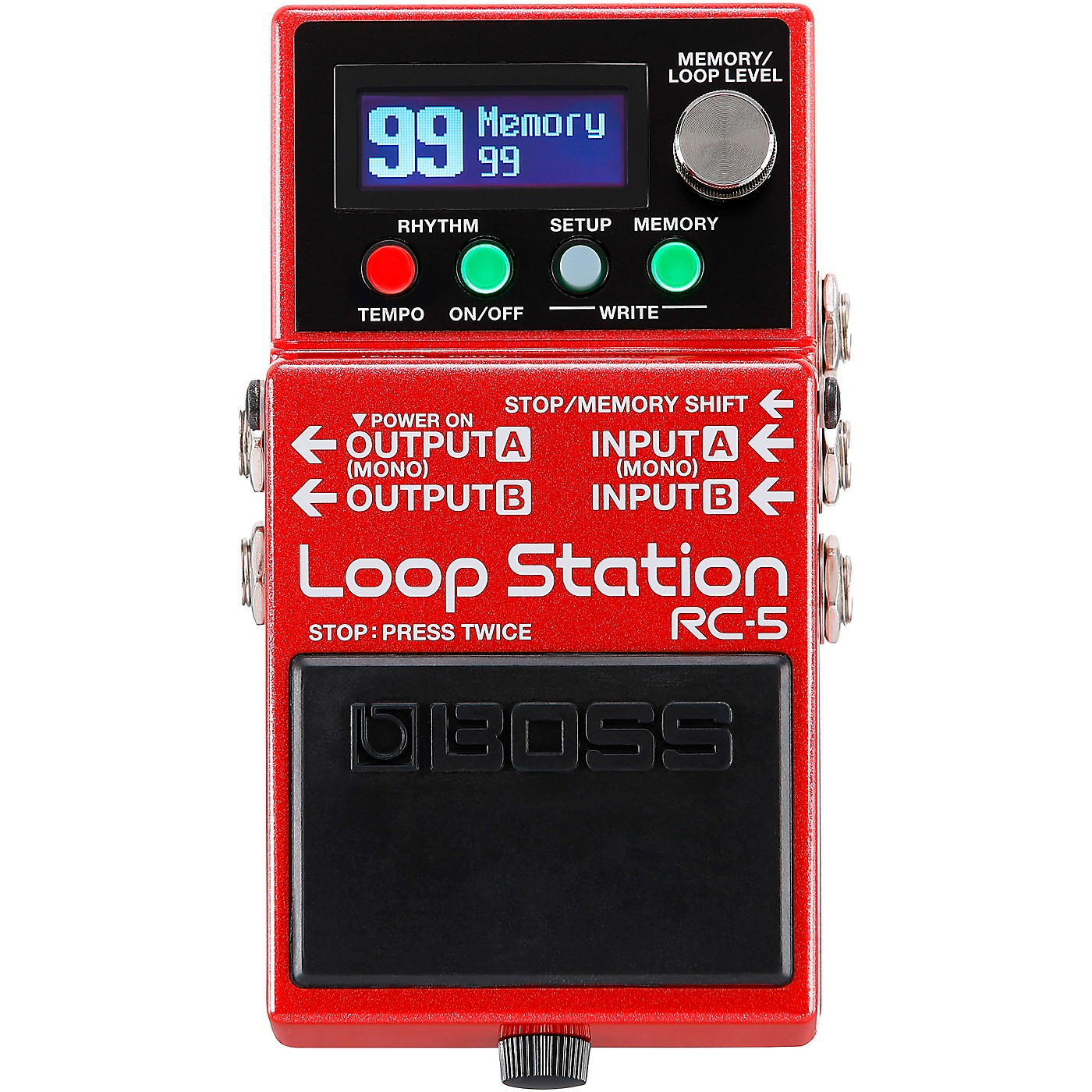 BOSS RC-5 Loop Station Effects Pedal thumbnail