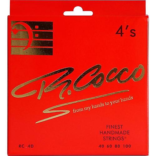 Richard Cocco RC4D 4-String Electric Bass Guitar Strings thumbnail