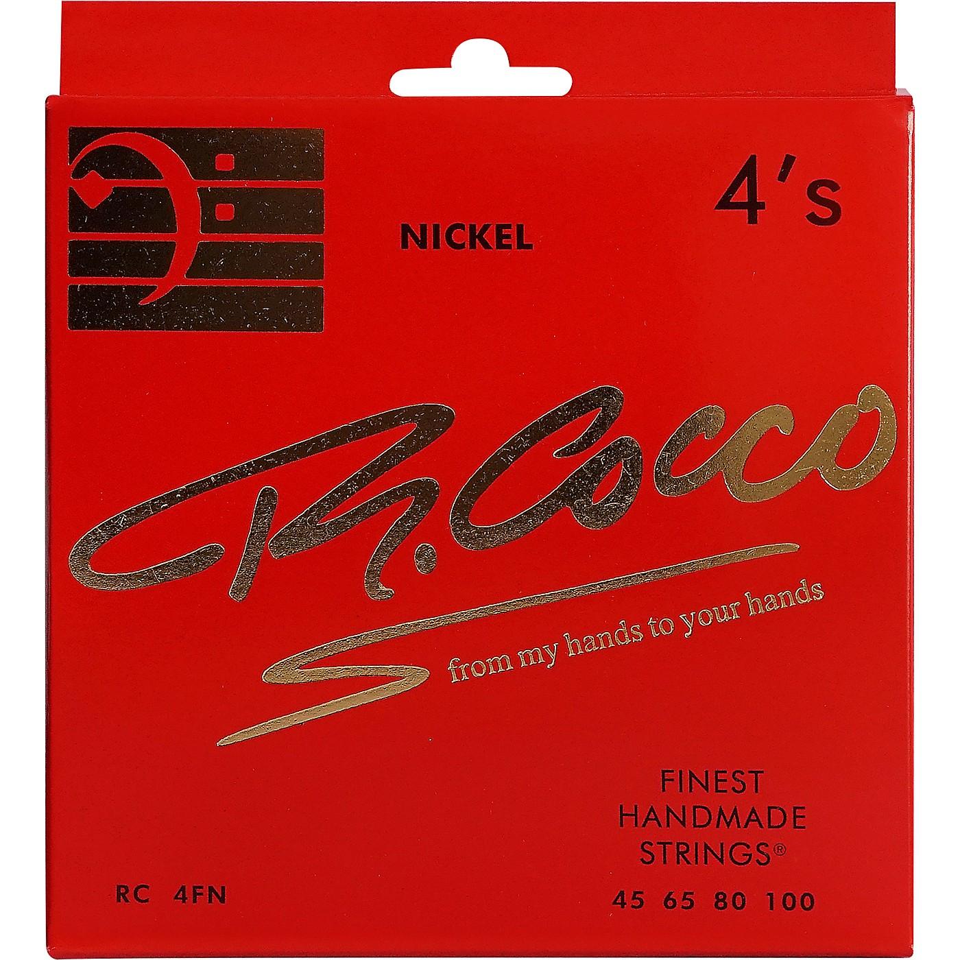Richard Cocco RC4FN 4-String Nickel Electric Bass Guitar Strings thumbnail