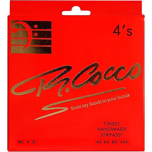 Richard Cocco RC4G 4-String Electric Bass Guitar Strings thumbnail