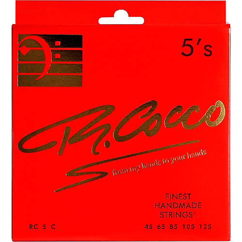 Richard Cocco RC5C 5-String Electric Bass Guitar Strings thumbnail