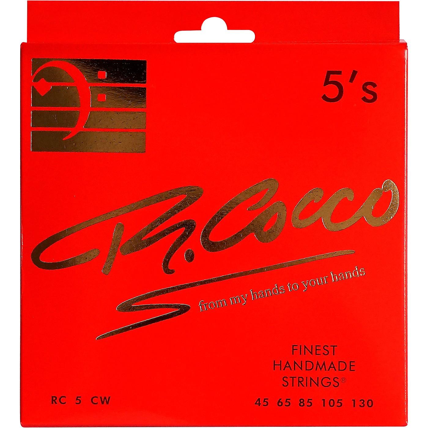Richard Cocco RC5CW 5-String Electric Bass Guitar Strings thumbnail