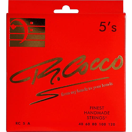 Richard Cocco RC5FATP 5-String Electric Bass Guitar Strings thumbnail