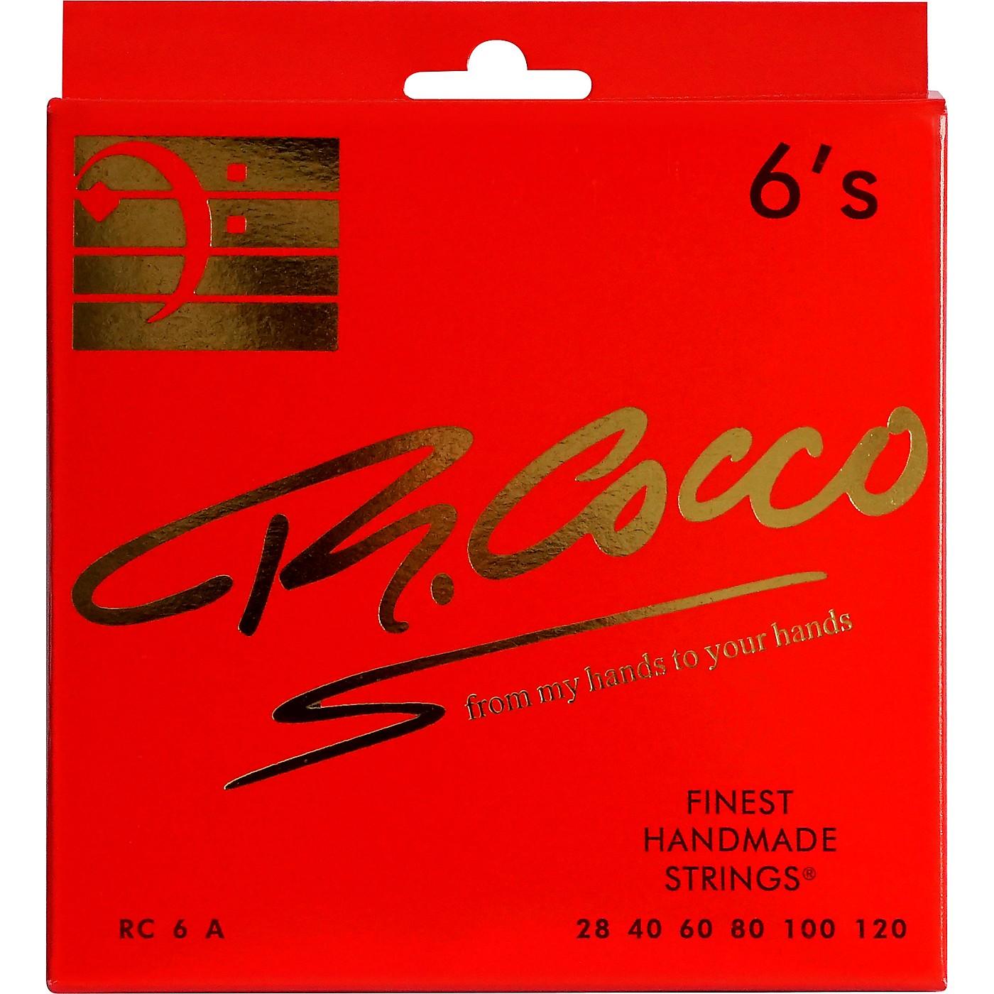 Richard Cocco RC6A 6-String Electric Bass Guitar Strings thumbnail