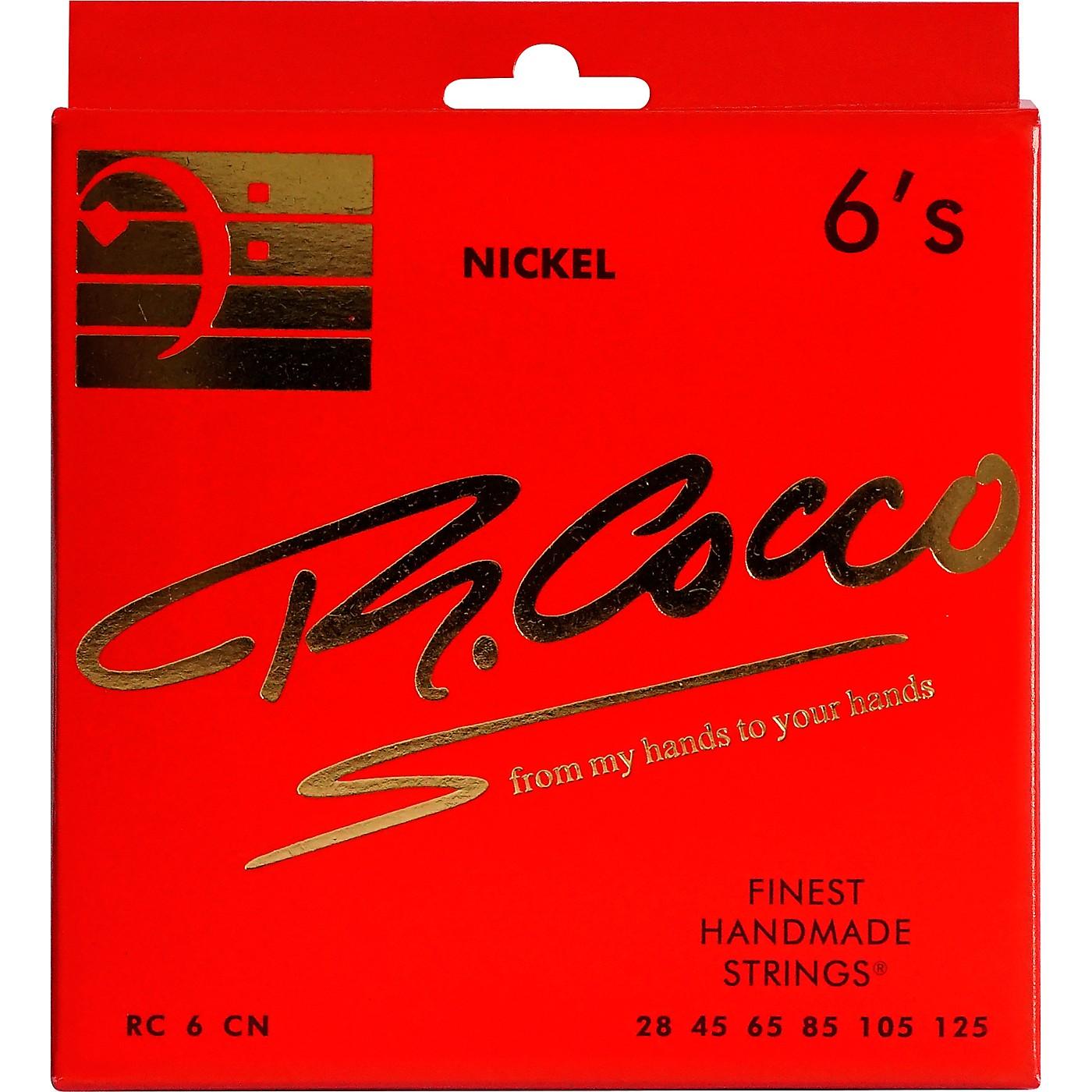 Richard Cocco RC6CN 6-String Nickel Electric Bass Guitar Strings thumbnail