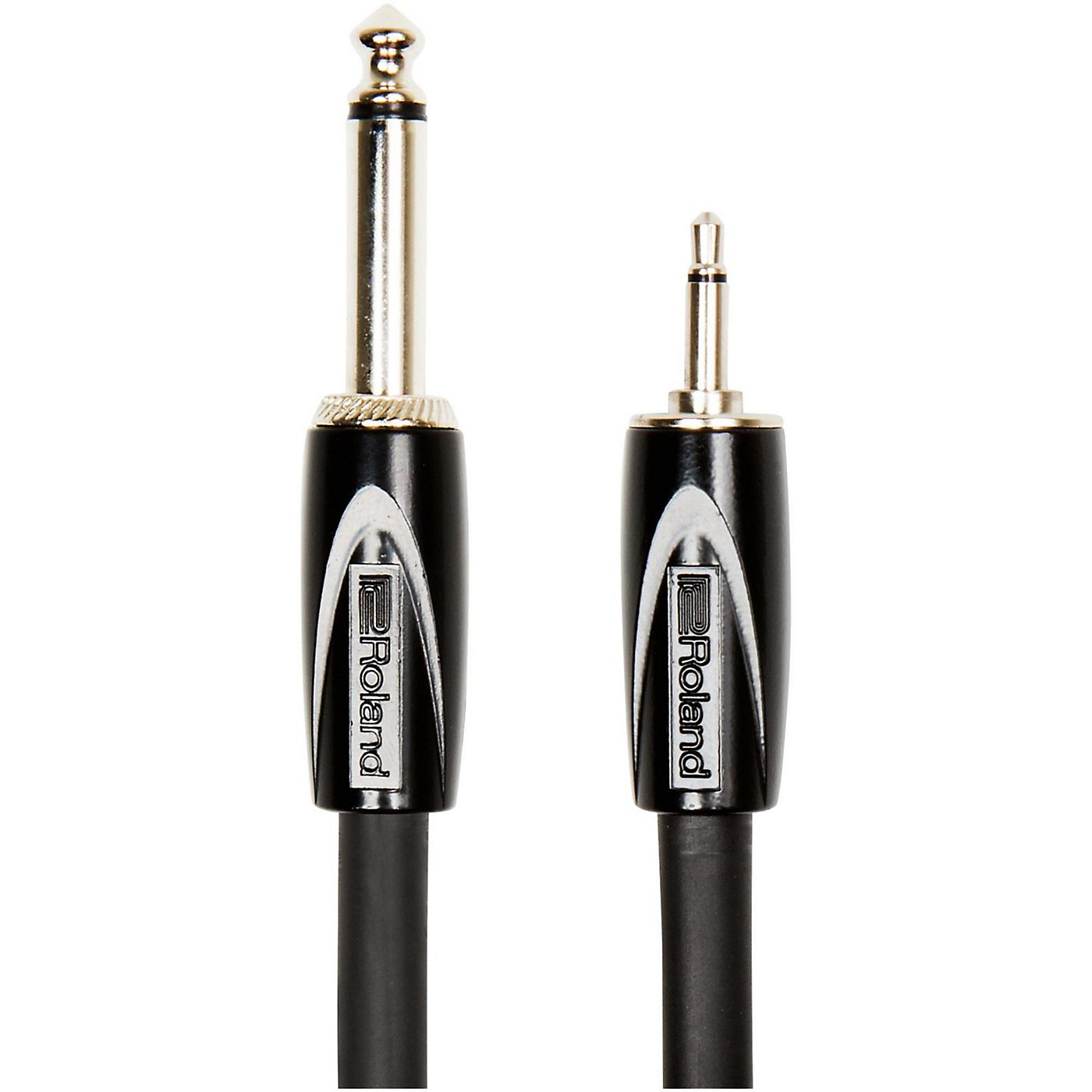 Roland RCC-3514 Black Series Interconnect Cable 3.5mm (Mono) to 1/4 in. (Mono) thumbnail