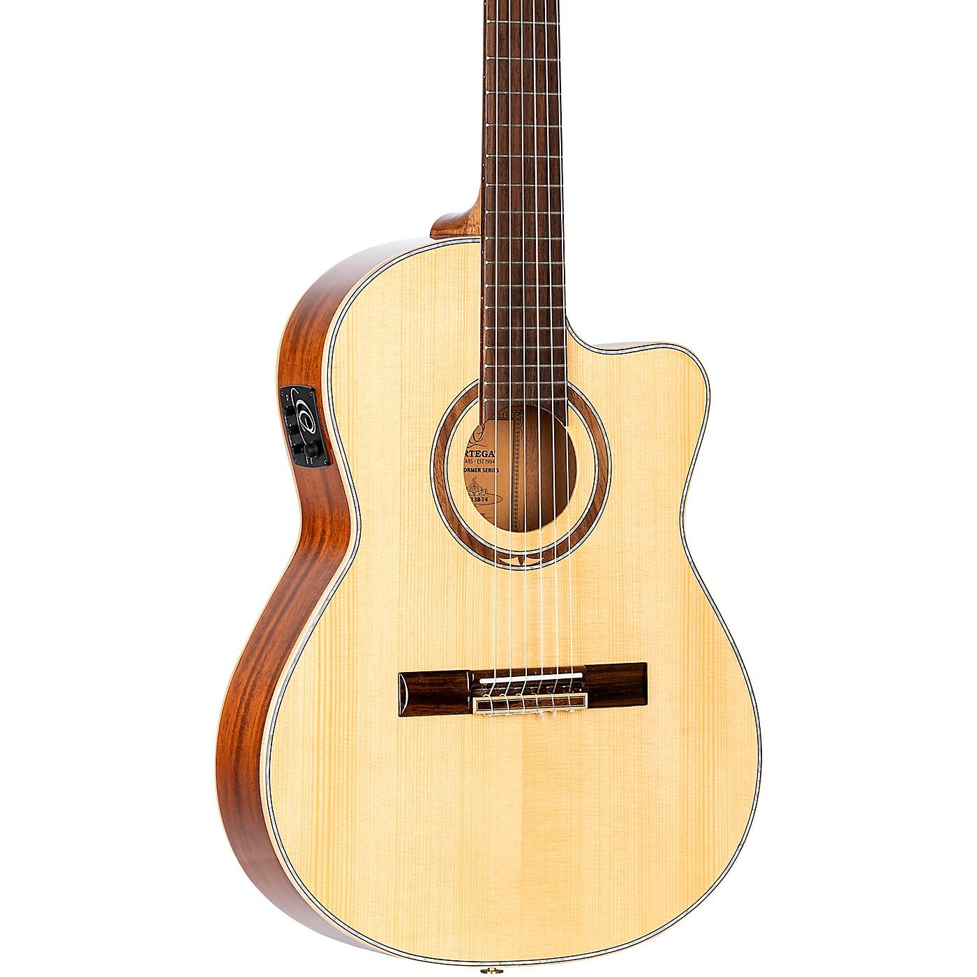 Ortega RCE138-T4 Thinline Acoustic-Electric Nylon Guitar thumbnail
